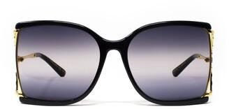 Gucci Squared Frame Sunglasses