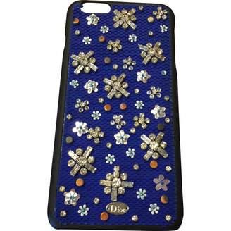 Christian Dior Blue Plastic Accessories