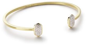 Kendra Scott Elias Pave Diamond Cuff Bracelet