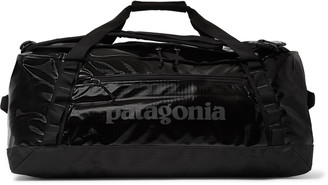 Patagonia Black Hole 55l Logo-Print Coated-Ripstop Duffle Bag