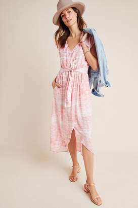 Cloth & Stone Tie-Dyed Midi Dress
