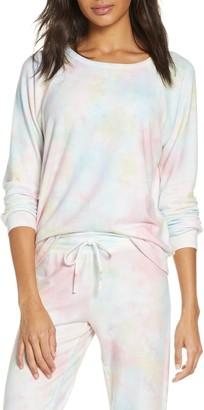 PJ Salvage Tie Dye Peached Jersey Sweatshirt