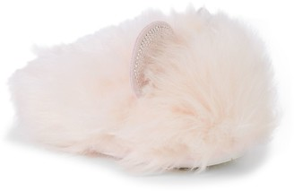 Steve Madden Girl's Faux Fur Slippers