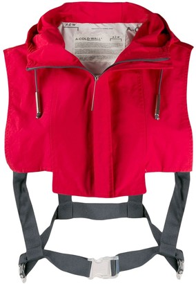 A-Cold-Wall* Cropped Shoulder Gilet