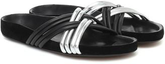 Isabel Marant Hellya leather sandals