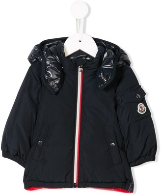 Moncler Enfant Zipped Padded Jacket