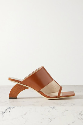 REJINA PYO Leah Leather Sandals - Tan