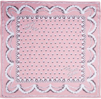 Marc Jacobs The Icing Square silk scarf