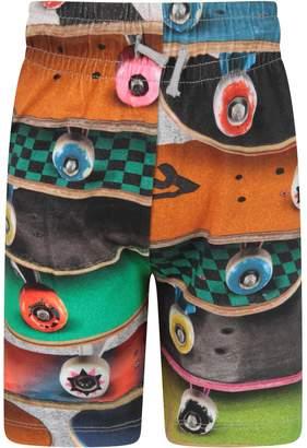 Molo Multicolor Boy Short With Prints