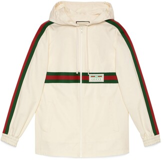 Gucci Cotton jacket with label