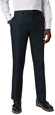 Ted Baker Armtro Check Print Slim Fit Pants