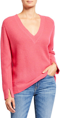 Rag & Bone Pierce V-Neck Cashmere Sweater