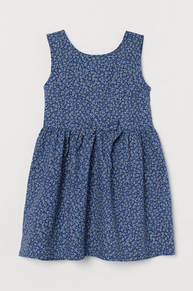 H&M Cotton Dress - Blue