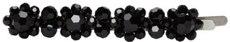 Simone Rocha Black Flower Hair Clip