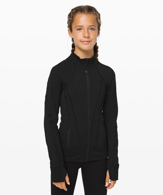 Lululemon Perfect Your Practice Jacket Brushed - Girls