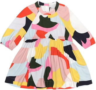 Stella Mccartney Kids Printed twill dress