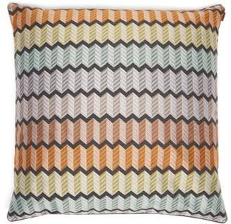 Missoni Home Waterford Large Zigzag-jacquard Cushion - Multi