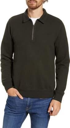 Hartford Long Sleeve Fleece Zip Polo