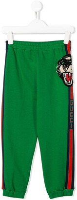 Gucci Kids Panther Detail Track Trousers
