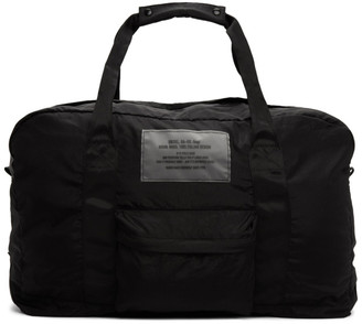 Diesel Black Packable Dupak Duffle Bag