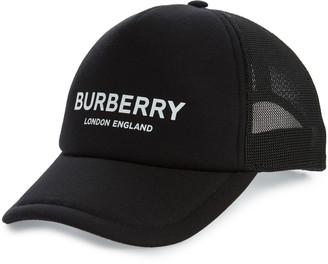 Burberry Logo Snapback Baseball Cap
