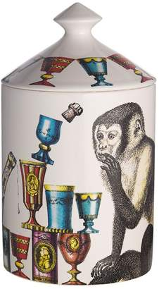 Fornasetti SCIMMIE OTTO SCENTED CANDLE WITH LID