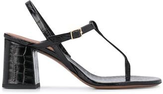 L'Autre Chose Mid Heel Thong Sandals