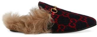 Gucci Women's Princetown GG wool slipper
