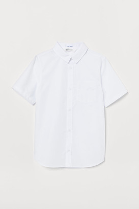 H&M Easy-iron Shirt - White