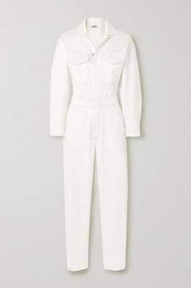 Citizens of Humanity Net Sustain Marta Organic Denim Jumpsuit - White