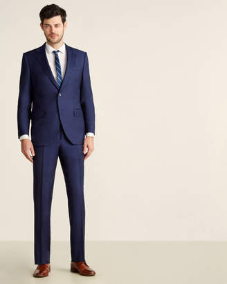 Luigi Bianchi Mantova Zegna Fabric Suits By Two-Piece Bright Navy Suit