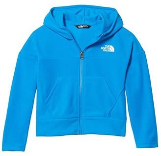 The North Face Kids Glacier Full Zip Hoodie (Little Kids/Big Kids) (Clear Lake Blue) Girl's Coat