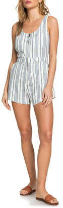 Roxy Roll Up Your Sleeve Romper