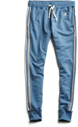 Todd Snyder + Champion Stripe Sweatpant in Blue