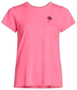Rag & Bone Two-Tone Palm Tree T-Shirt
