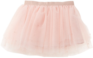 Milly Crystal-Embellished Tutu Skirt