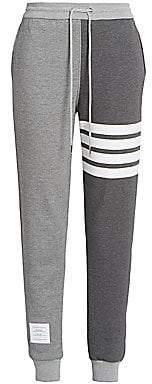 Thom Browne Women's Striped Jogger Sweatpants
