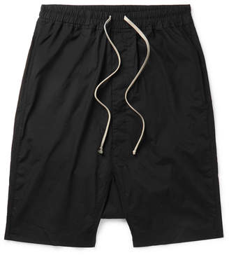 Rick Owens Pod Cotton-Jersey Drawstring Shorts