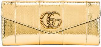 Gucci Broadway Evening Clutch in Gold | FWRD