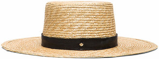 Janessa Leone Klint Hat in Natural | FWRD