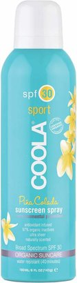 Coola R) Suncare Sport Sunscreen Spray Broad Spectrum SPF 30