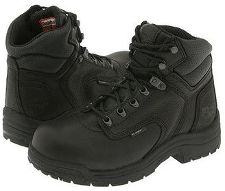 Timberland TITAN(r) Alloy Safety Toe (Black Full-Grain Leather) Women's Work Lace-up Boots