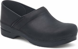 Dansko Women's Professional Black Oiled Clog 7.5-8 Narrow US