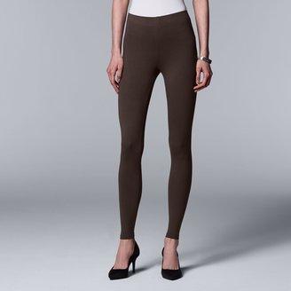 Vera Wang Women's Simply Vera Solid Leggings