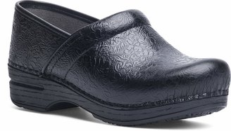 Dansko Women's Pro XP Black Floral Tooled Clog 11.5-12 M US