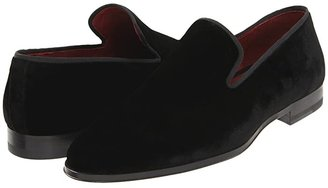 Magnanni Dorio (Black) Men's Slip on Shoes