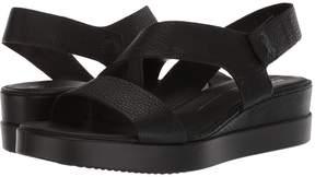 Ecco Touch 2-Strap Plateau Women's Sandals