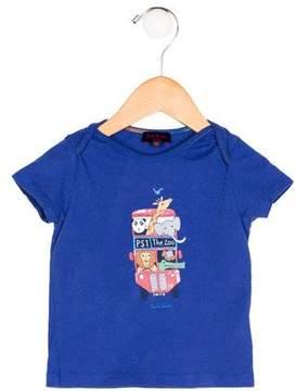 Paul Smith Boys' Animal Print Short Sleeve Shirt