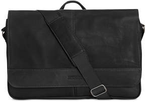 Kenneth Cole Reaction Men's Colombian Leather Computer Messenger Bag