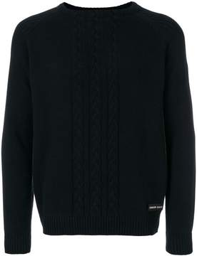 Philipp Plein cable-knit sweater